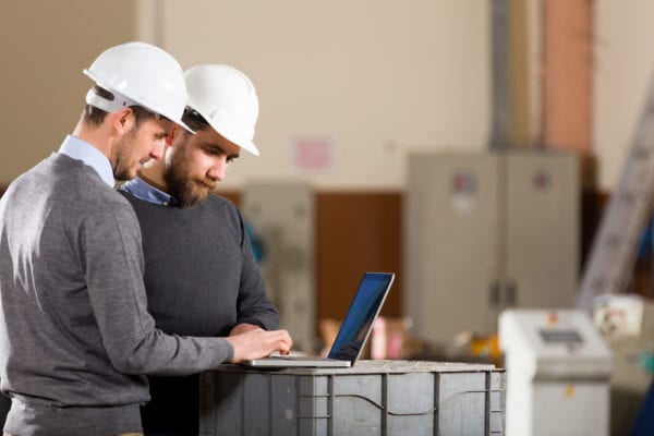 employees-laptop-production floor-user adoption