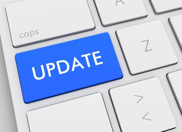 computer-keyboard-update button-blue-maintenance changed