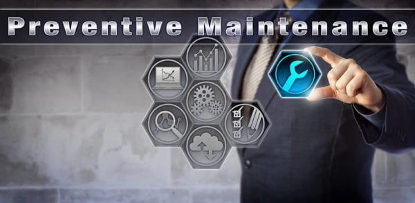 preventive-maintenance-plan-gears-man-suit-holding icon